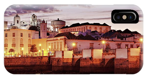 IPhone Case featuring the photograph Tavira At Dusk - Portugal by Barry O Carroll