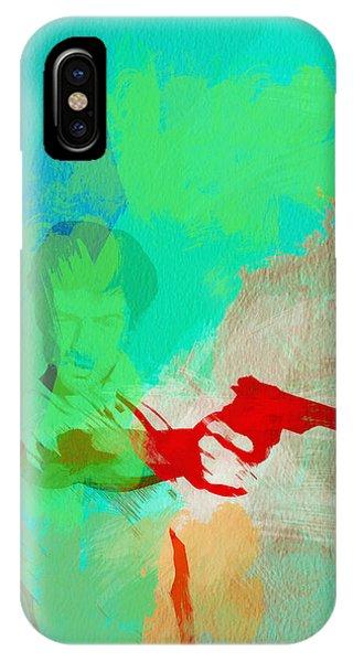 Robert De Niro iPhone Case - Taxi Driver by Naxart Studio