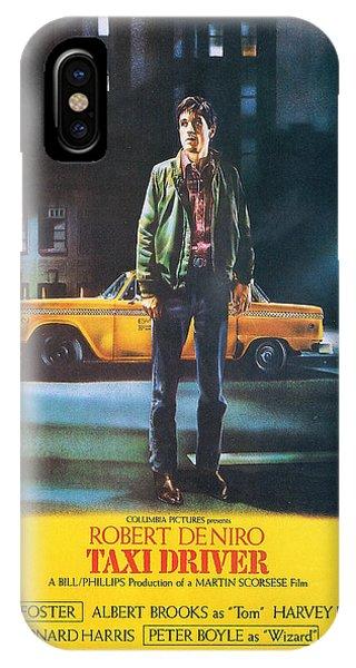 Robert De Niro iPhone Case - Taxi Driver - Robert De Niro by Georgia Fowler