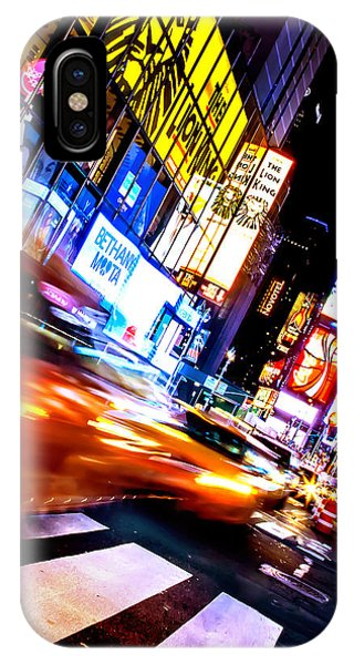 New York City Taxi iPhone Case - Taxi Square by Az Jackson
