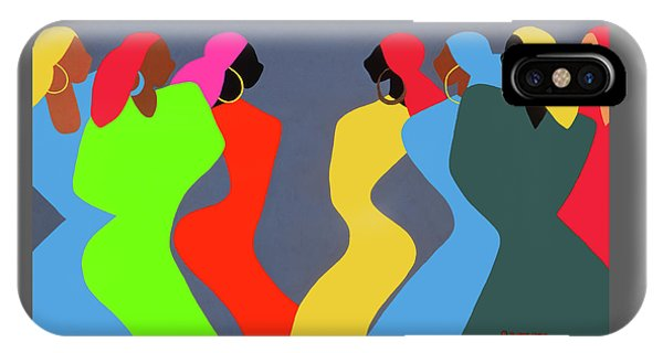 iPhone Case - Tchokola by Synthia SAINT JAMES