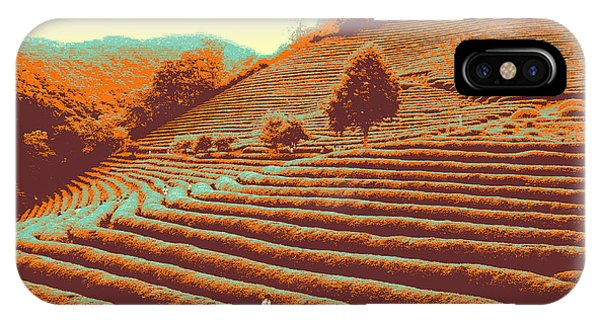 Tea Field IPhone Case