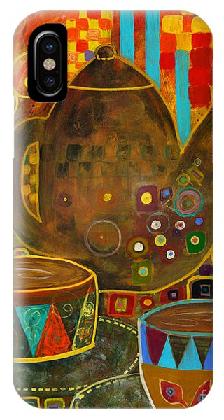 Tea Party With Klimt IPhone Case