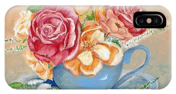 Tea Roses IPhone Case