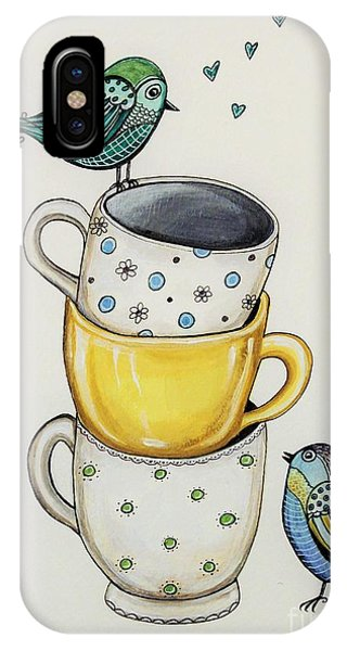 Tea Time Friends IPhone Case