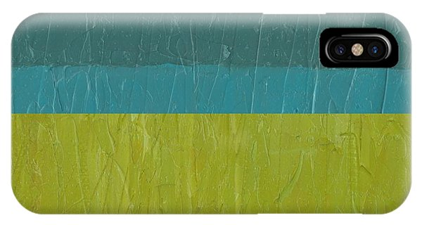 Teal And Olive Ll IPhone Case