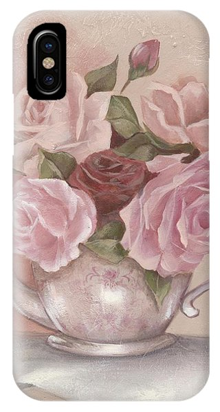 Teapot Roses IPhone Case
