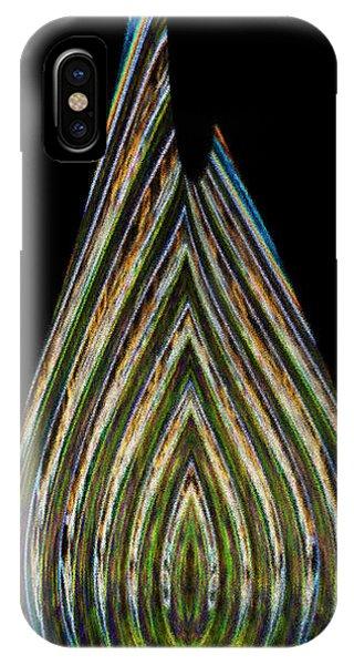 IPhone Case featuring the digital art Teardrop by Wendy Wilton