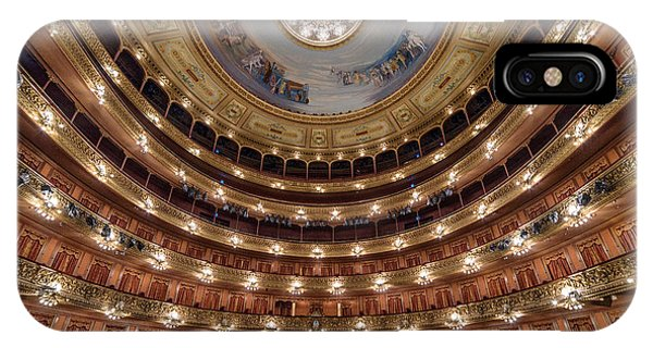 Teatro Colon Performers View IPhone Case