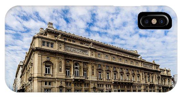 Teatro Colon IPhone Case
