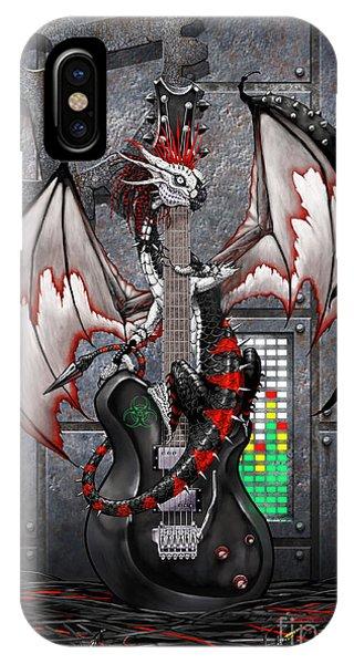 Tech-n-dustrial Music Dragon IPhone Case