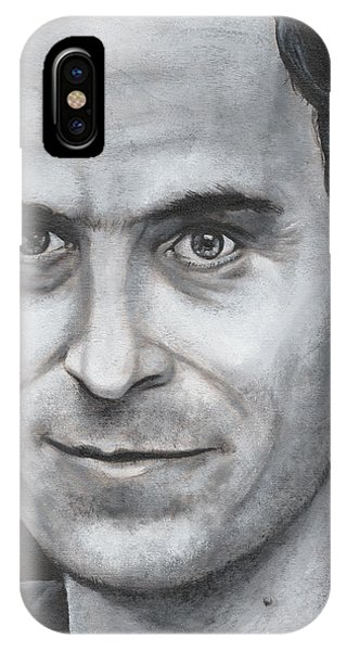 Ted Bundy iPhone Case - Ted Bundy by Michael Parsons