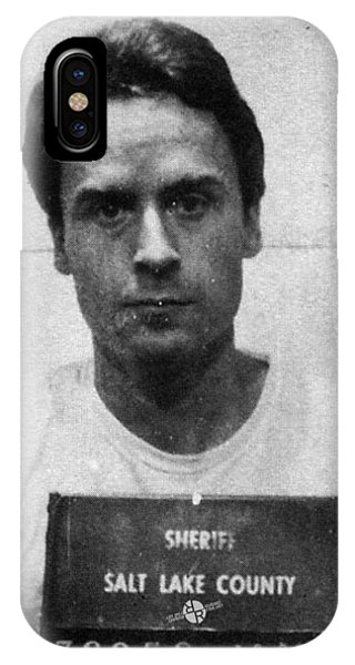 Ted Bundy Mug Shot 1975 Vertical  IPhone Case
