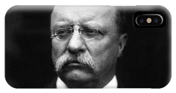 Cavalry iPhone Case - Teddy Roosevelt by War Is Hell Store