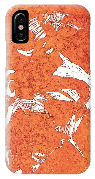 Ted Bundy iPhone Case - Teddy's Anger by Lexi Rae