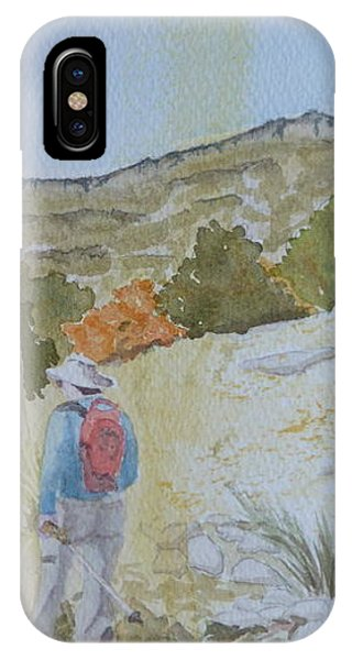 Tejas Trail Doodle IPhone Case