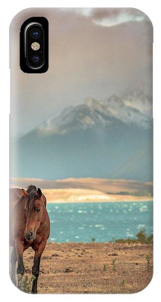 Tekapo Horse IPhone Case