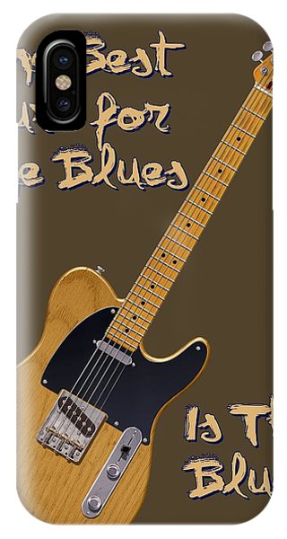Tele Blues Cure IPhone Case