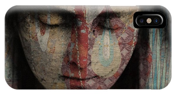 Deep Thought iPhone Case - Tell Me There's A Heaven by Paul Lovering