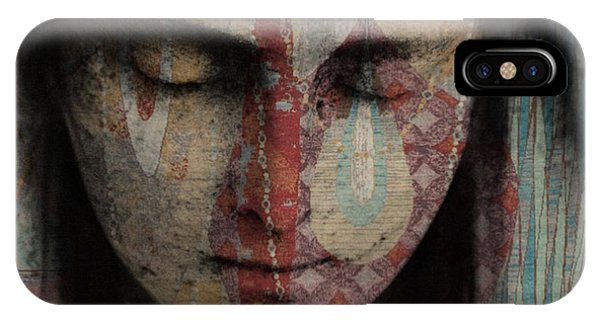 Statue iPhone Case - Tell Me There's A Heaven by Paul Lovering