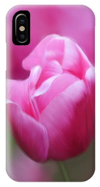 Tell Your Heart To Beat Again - Flower Art IPhone Case