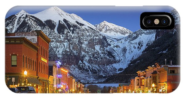 Telluride Main Street 3 IPhone Case