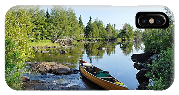 Temperance River Portage IPhone Case