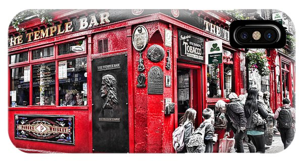 Temple Bar Pub IPhone Case
