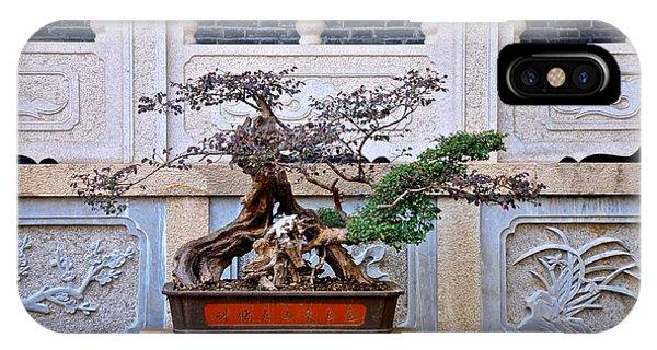 Temple Bonsai IPhone Case