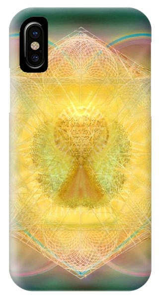 Temple Fire Chalice IPhone Case