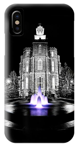 Temple Fountain  IPhone Case