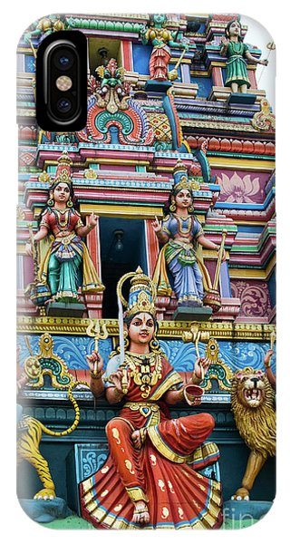 Temple Gopuram IPhone Case