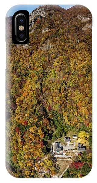 Temple In The Valley 2 IPhone Case