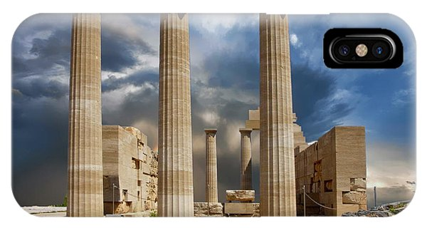 Temple Of Athena IPhone Case