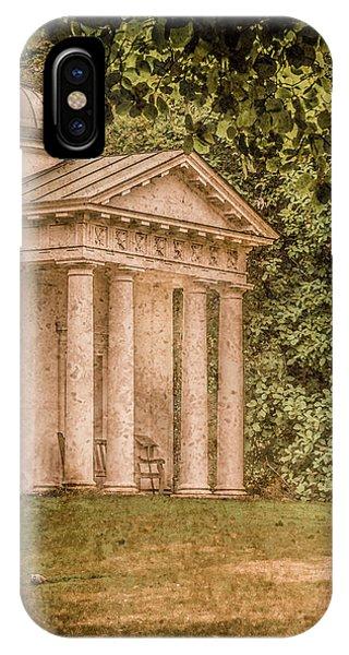 Kew Gardens, England - Temple Of Bellona IPhone Case
