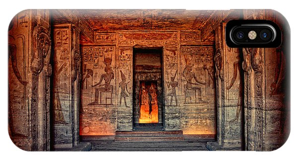 Temple Of Hathor And Nefertari Abu Simbel IPhone Case