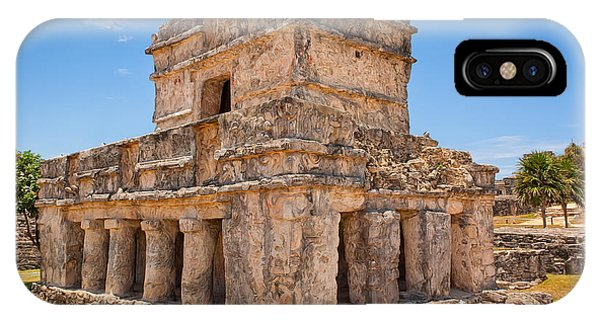 Temple Of The Frescos IPhone Case