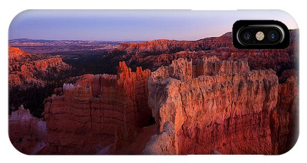 Desert iPhone Case - Temple Of The Setting Sun by Mike  Dawson
