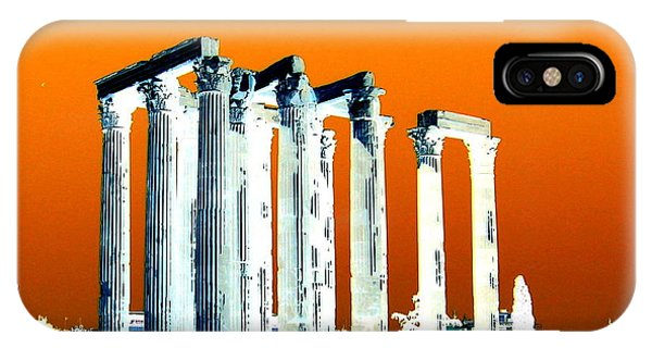 Temple Of Zeus, Athens IPhone Case