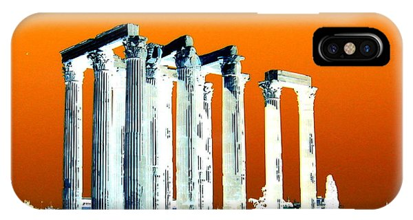 Temple Of Zeus IPhone Case