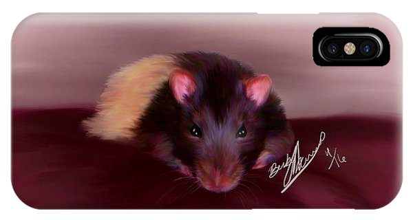 Templeton The Pet Fancy Rat IPhone Case