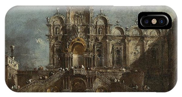iPhone Case - Temporary Tribune In The Campo San Zanipolo - Venice by Francesco Guardi