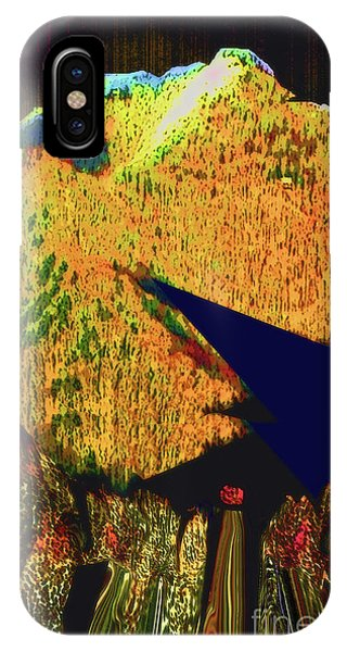 Ten Thousand Trees Sun Descending IPhone Case