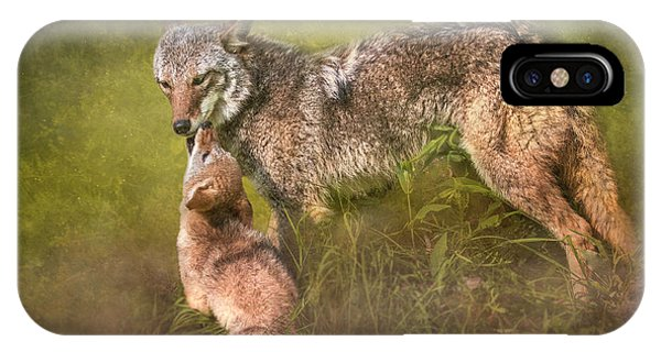 Tender Moment IPhone Case
