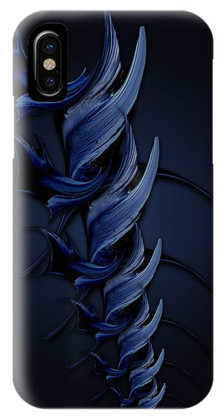 Tender Vision Of Blue Feeling IPhone Case