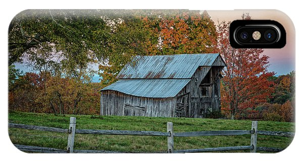 IPhone Case featuring the photograph Tennessee Barn by David Waldrop