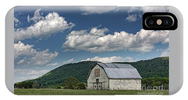 Tennessee Barn Quilt IPhone Case