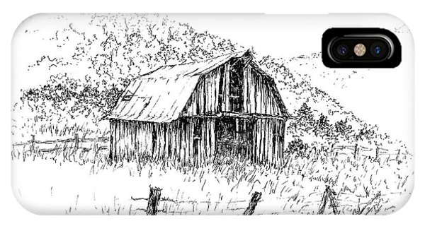Tennessee Hills With Barn IPhone Case