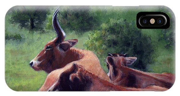 Tennessee Longhorn Steers IPhone Case