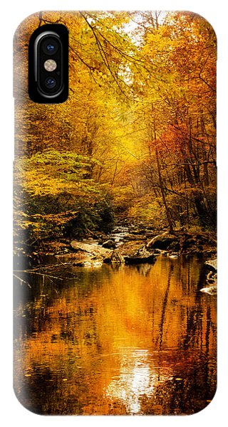 Tennessee Mountains Autumn IPhone Case